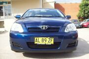 2006 Toyota Corolla ZZE122R Ascent Seca Blue 4 Speed Automatic Hatchback Windsor Hawkesbury Area Preview