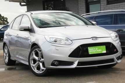 2012 Ford Focus LW MKII ST Silver 6 Speed Manual Hatchback Hillcrest Port Adelaide Area Preview