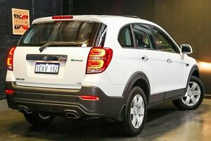 2014 Holden Captiva CG MY15 7 LS Summit White 6 Speed Sports Automatic Wagon Northbridge Perth City Area Preview