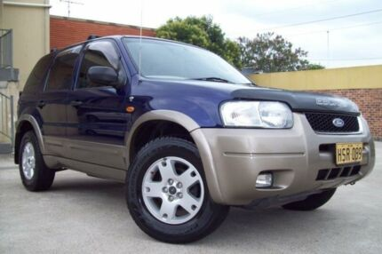 2004 Ford Escape ZB XLT Blue 4 Speed Automatic Wagon Windsor Hawkesbury Area Preview