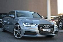 2012 Audi A6 4G S tronic quattro Grey 7 Speed Sports Automatic Dual Clutch Sedan Burwood Whitehorse Area Preview