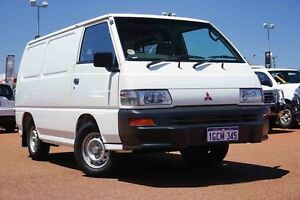 2013 Mitsubishi Express SJ MY12 SWB White 5 Speed Manual Van Westminster Stirling Area Preview