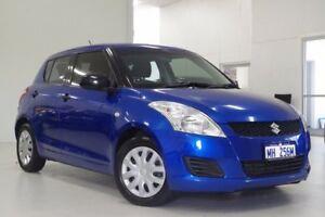 2012 Suzuki Swift FZ GA Blue 5 Speed Manual Hatchback Myaree Melville Area Preview