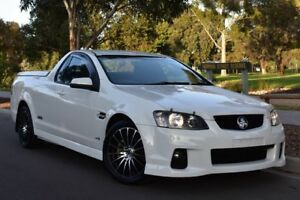 2011 Holden Ute VE II MY12 SS White 6 Speed Manual Utility St Marys Mitcham Area Preview