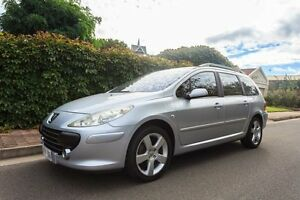 2007 Peugeot 307 T6 XSE HDi Touring Silver 6 Speed Sports Automatic Wagon Hove Holdfast Bay Preview