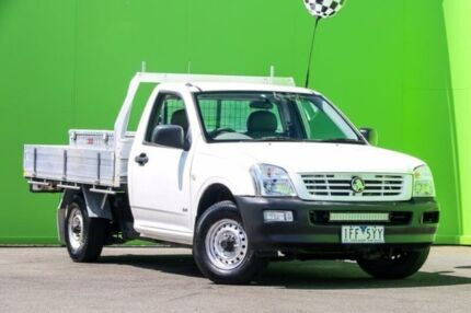 2005 Holden Rodeo RA DX White 5 Speed Manual Cab Chassis Ringwood East Maroondah Area Preview