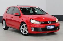 2009 Volkswagen Golf 1K MY10 GTI Red 6 Speed Direct Shift Hatchback Bentley Canning Area Preview