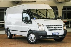 2013 Ford Transit VM MY13 350 Mid Roof LWB White 6 Speed Manual Van