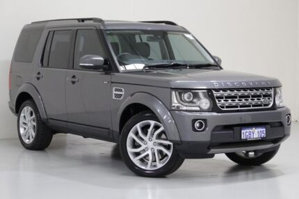 2016 Land Rover Discovery LC MY16.5 SDV6 HSE Grey 8 Speed Automatic Wagon Bentley Canning Area Preview