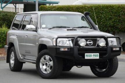 2010 Nissan Patrol GU 7 MY10 ST Silver 4 Speed Automatic Wagon Acacia Ridge Brisbane South West Preview