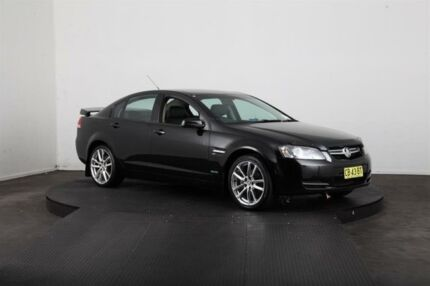 2009 Holden Commodore VE MY10 Omega Black 6 Speed Automatic Sedan