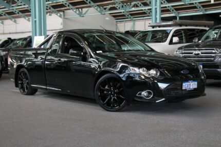 2014 Ford Falcon FG MkII XR6 Ute Super Cab Turbo Silhouette 6 Speed Manual Utility Welshpool Canning Area Preview