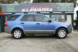 2004 Ford Territory SX TX Blue 4 Speed Automatic Wagon Barrack Heights Shellharbour Area Preview