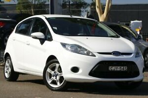 2012 Ford Fiesta WT CL White 5 Speed Manual Hatchback Condell Park Bankstown Area Preview