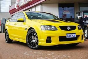 2011 Holden Commodore VE II SV6 Yellow 6 Speed Sports Automatic Sedan Glendalough Stirling Area Preview
