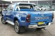 2015 Toyota Hilux KUN26R MY14 SR5 Double Cab Blue 5 Speed Automatic Utility Penrith Penrith Area Preview