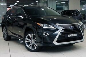 2016 Lexus RX450H GYL25R Luxury Graphite Black 6 Speed Constant Variable Wagon Hybrid Waterloo Inner Sydney Preview