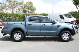 2012 Ford Ranger PX XL Double Cab Blue 6 Speed Sports Automatic Utility Acacia Ridge Brisbane South West Preview