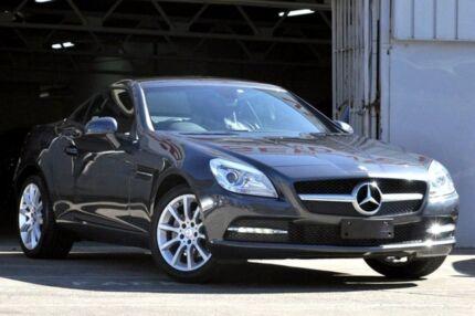 2014 Mercedes-Benz SLK R172 MY14 200 Grey 7 Speed Automatic G-Tronic Convertible Mosman Mosman Area Preview