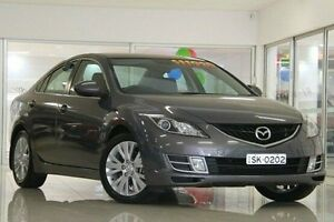 2008 Mazda 6 GH1051 Classic Grey 6 Speed Manual Sedan Waitara Hornsby Area Preview