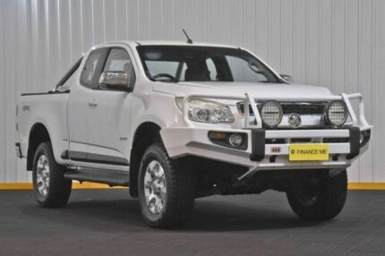 2012 Holden Colorado RG MY13 LTZ Space Cab White 5 Speed Manual Utility
