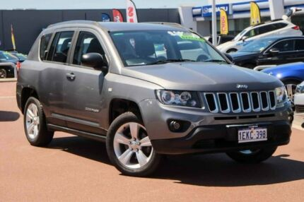2014 Jeep Compass MK MY14 Sport Grey 6 Speed Sports Automatic Wagon Osborne Park Stirling Area Preview