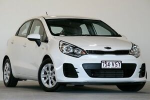 2015 Kia Rio UB MY15 S White 4 Speed Automatic Hatchback Coopers Plains Brisbane South West Preview