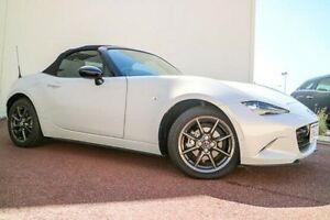 2015 Mazda MX-5 ND GT SKYACTIV-Drive Ceramic White 6 Speed Sports Automatic Roadster Wilson Canning Area Preview