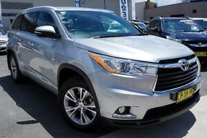 2014 Toyota Kluger GSU55R GXL AWD Silver 6 Speed Sports Automatic Wagon Pearce Woden Valley Preview