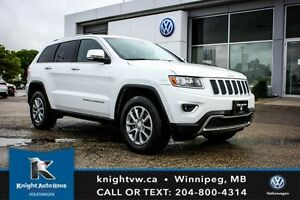 2014 Jeep Grand Cherokee Limited AWD w/ Leather/Sunroof