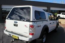 2009 Ford Ranger PK XL (4x4) White 5 Speed Automatic Dual Cab Pick-up South Maitland Maitland Area Preview