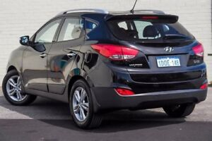 2011 Hyundai ix35 LM MY11 Elite (AWD) Black 6 Speed Automatic Wagon