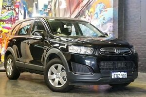 2014 Holden Captiva CG MY14 7 LS Carbon Flash Black 6 Speed Sports Automatic Wagon Northbridge Perth City Area Preview