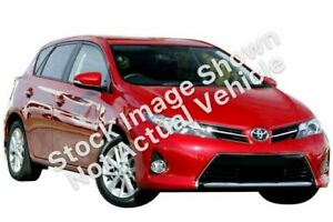 2014 Toyota Corolla ZRE182R Ascent Sport S-CVT Red 7 Speed Constant Variable Hatchback Underwood Logan Area Preview