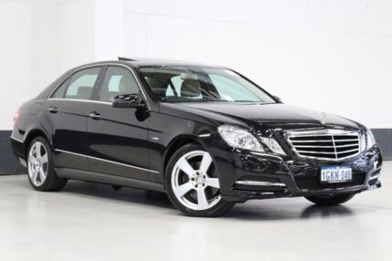 2010 Mercedes-Benz E250 212 CDI Avantgarde Black 5 Speed Automatic Sedan