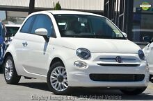 2016 Fiat 500 Series 4 POP Ambient White 5 Speed Automatic Hatchback Zetland Inner Sydney Preview