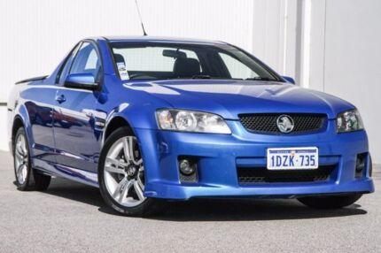 2008 Holden Ute VE SV6 60th Anniversary Blue 6 Speed Manual Utility