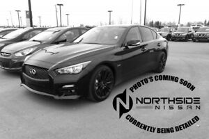 2016 Infiniti Q50 AWD 3.0T RED SPORT Accident Free,  Leather,  H