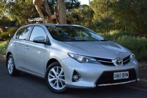 2012 Toyota Corolla ZRE182R Ascent Sport Silver 6 Speed Manual Hatchback St Marys Mitcham Area Preview