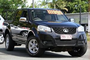 2011 Great Wall V200 K2 MY11 Black 6 Speed Manual Utility Kedron Brisbane North East Preview