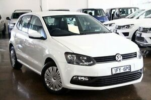 2015 Volkswagen Polo 6R MY15 White 7 Speed Sports Automatic Dual Clutch Hatchback Frankston Frankston Area Preview