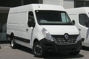 2016 Renault Master X62 Mid Roof LWB AMT RWD Glacier White 6 Speed Sports Automatic Single Clutch Artarmon Willoughby Area Preview