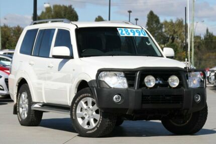 2010 Mitsubishi Pajero NT MY10 Activ White 5 Speed Auto Seq Sportshift Wagon Brendale Pine Rivers Area Preview