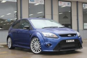2010 Ford Focus LV RS Blue 6 Speed Manual Hatchback Blacktown Blacktown Area Preview