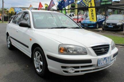 2004 Hyundai Elantra XD MY04 Elite White 4 Speed Automatic Sedan West Footscray Maribyrnong Area Preview