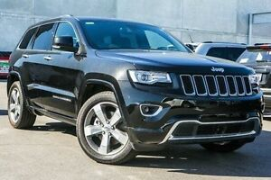 2015 Jeep Grand Cherokee WK MY15 Overland Black 8 Speed Sports Automatic Wagon Hallam Casey Area Preview