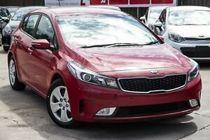2016 Kia Cerato YD MY17 S Temptation Red 6 Speed Sports Automatic Hatchback Blacktown Blacktown Area Preview