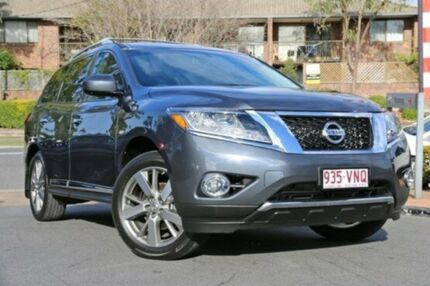 2013 Nissan Pathfinder R52 MY14 Ti X-tronic 4WD Grey 1 Speed Constant Variable Wagon Taringa Brisbane South West Preview