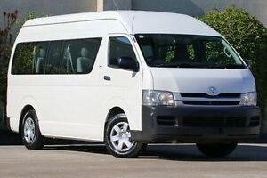 2010 Toyota Hiace TRH223R MY10 Commuter High Roof Super LWB White 4 Speed Automatic Bus Dandenong Greater Dandenong Preview