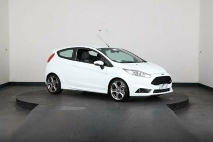 2015 Ford Fiesta WZ ST White 6 Speed Manual Hatchback Greenacre Bankstown Area Preview